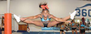 Performing-Jumping-Cheerleading-Splits